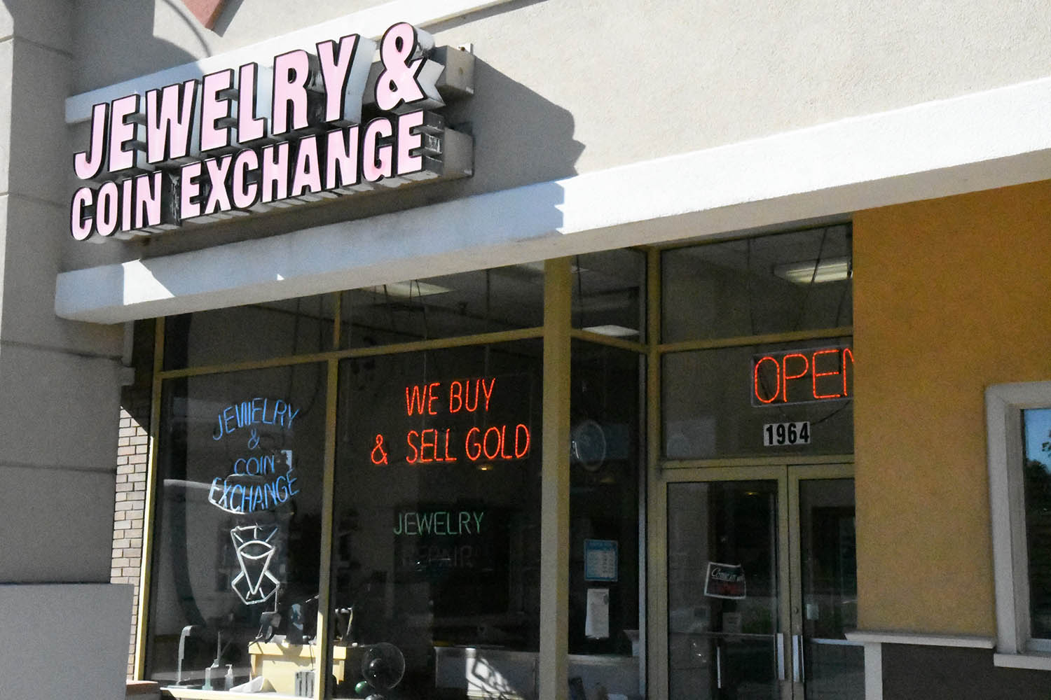 jewelry and coin exchange